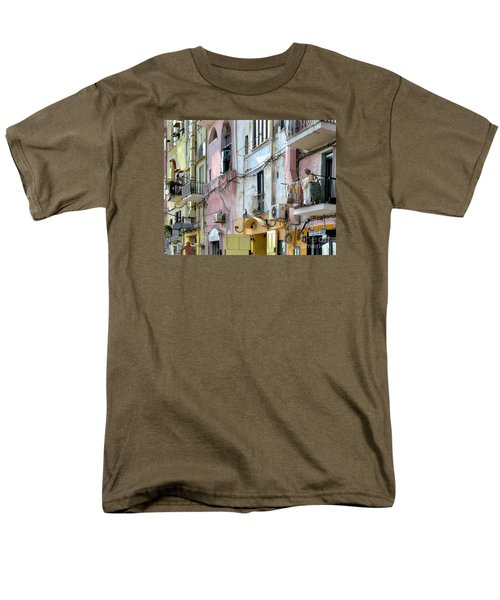 Laundry Day In Procida Men's T-Shirt  (Regular Fit) by Jennie Breeze