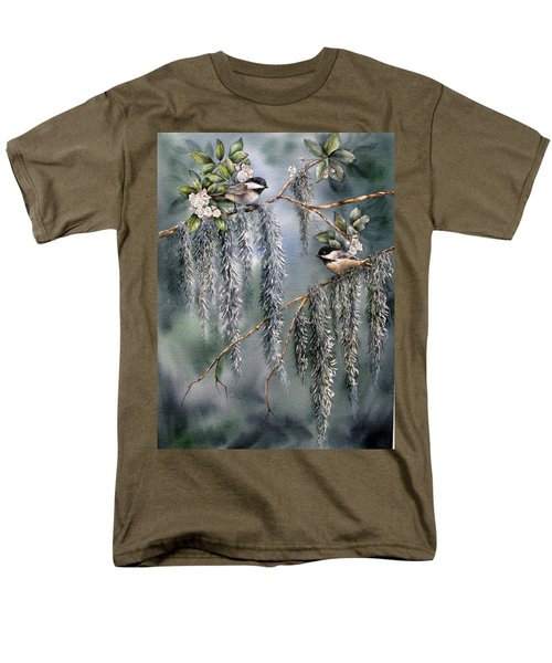 Laurel Meets Moss Men's T-Shirt  (Regular Fit)