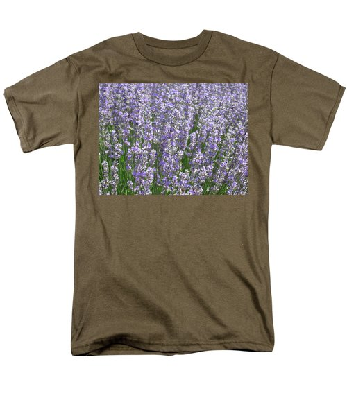 Men's T-Shirt  (Regular Fit) featuring the photograph Lavender Hues by Pema Hou