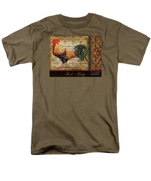 Le Coq-c Men's T-Shirt  (Regular Fit) by Jean Plout