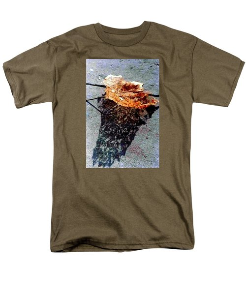 Men's T-Shirt  (Regular Fit) featuring the photograph Leaf Lace In New Orleans Louisiana by Michael Hoard