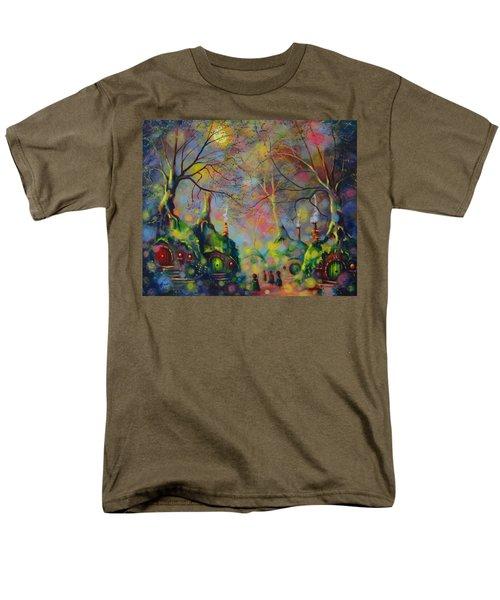 Leaving The Shire Men's T-Shirt  (Regular Fit) by Joe Gilronan