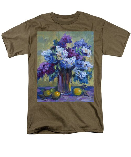 Lemons And Lilacs Men's T-Shirt  (Regular Fit) by Diane McClary