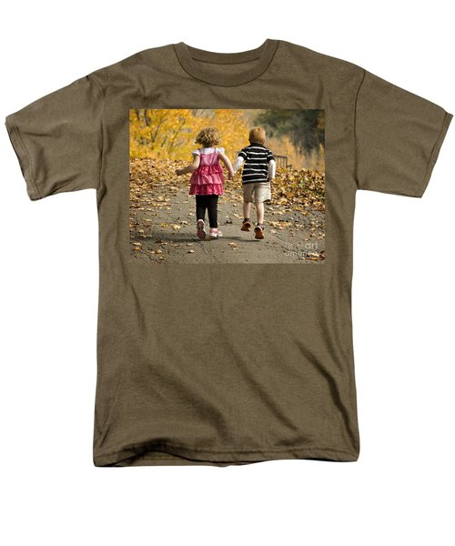 Men's T-Shirt  (Regular Fit) featuring the photograph Let's Get Out Of Here by Carol Lynn Coronios