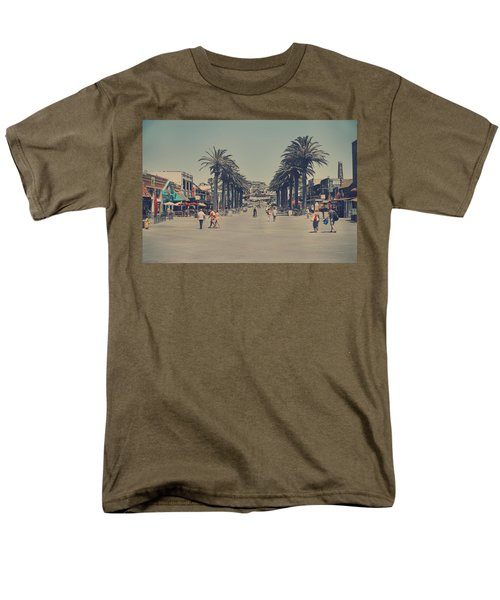 Life In A Beach Town Men's T-Shirt  (Regular Fit) by Laurie Search