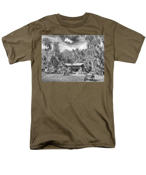 Men's T-Shirt  (Regular Fit) featuring the photograph Life On The Farm by Howard Salmon