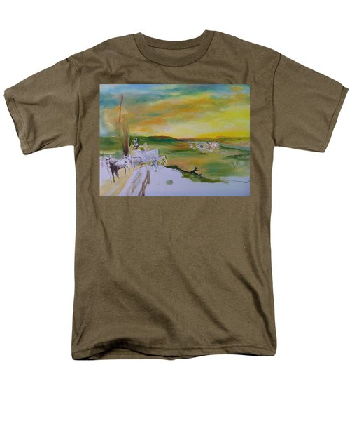Light Men's T-Shirt  (Regular Fit) by Mary Ellen Anderson