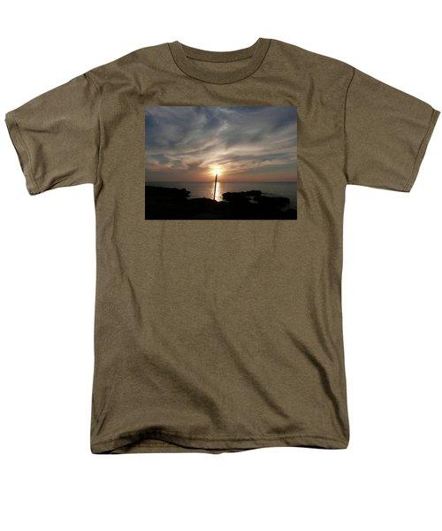 Light The Sun Men's T-Shirt  (Regular Fit) by Amar Sheow