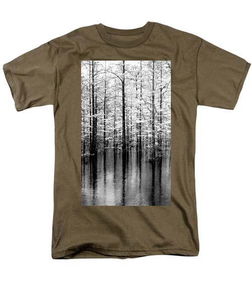 Lightning On The Wetlands Men's T-Shirt  (Regular Fit) by Faith Williams