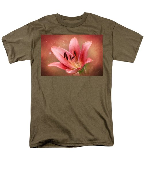 Men's T-Shirt  (Regular Fit) featuring the photograph Lily by Ann Lauwers