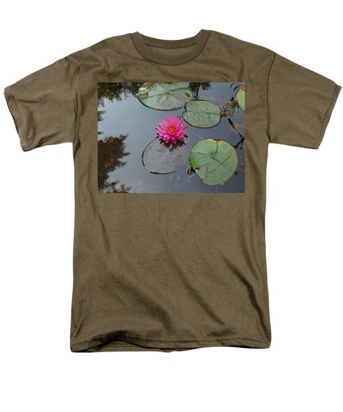 Lily Flower Men's T-Shirt  (Regular Fit) by Michael Porchik