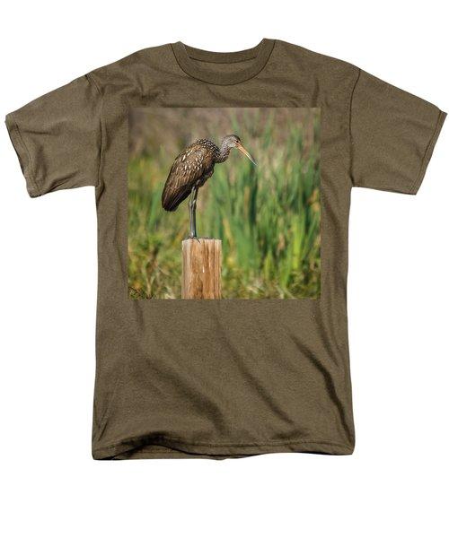 Limpkin Men's T-Shirt  (Regular Fit) by Jane Luxton
