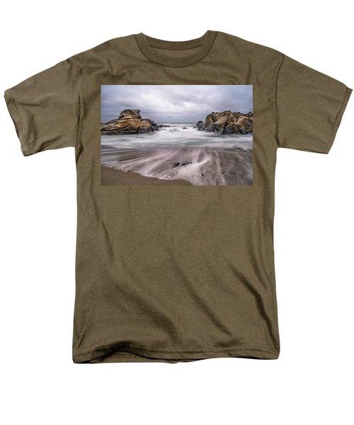 Lines In The Sand Men's T-Shirt  (Regular Fit) by Linda Villers
