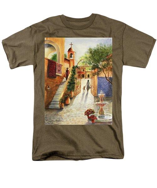 Lingering Spirit-sedona Men's T-Shirt  (Regular Fit) by Marilyn Smith