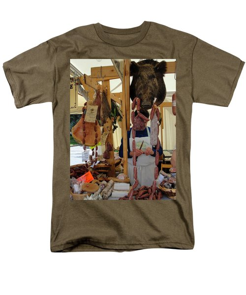 Men's T-Shirt  (Regular Fit) featuring the photograph Links by Natalie Ortiz