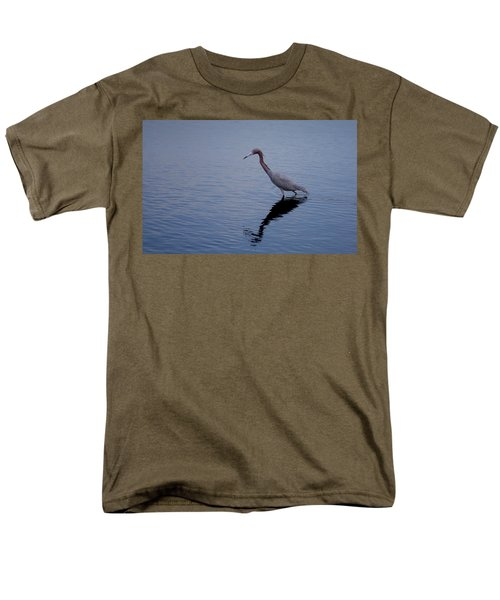 Men's T-Shirt  (Regular Fit) featuring the photograph Little Blue Heron On The Hunt by John M Bailey
