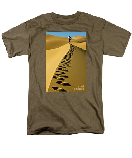Live On The Edge Men's T-Shirt  (Regular Fit) by Michael Cinnamond