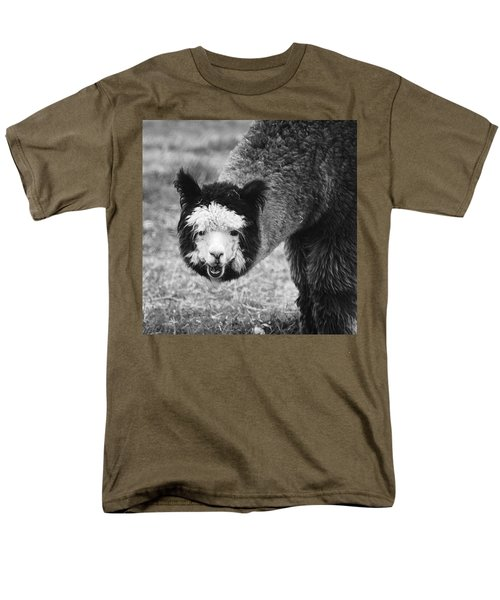 Llama Men's T-Shirt  (Regular Fit) by Yulia Kazansky