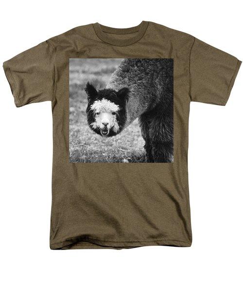 Men's T-Shirt  (Regular Fit) featuring the photograph Llama by Yulia Kazansky