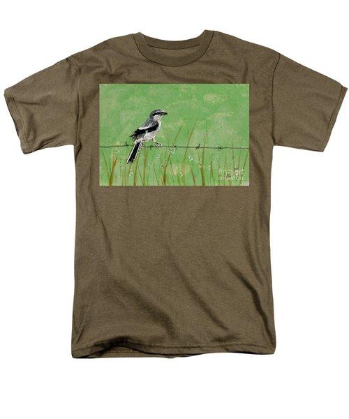 Loggerhead Shrike Men's T-Shirt  (Regular Fit)