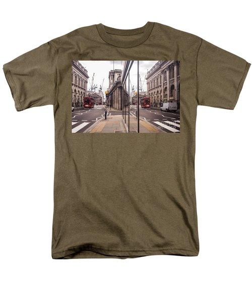 London Reflected Men's T-Shirt  (Regular Fit) by Matt Malloy