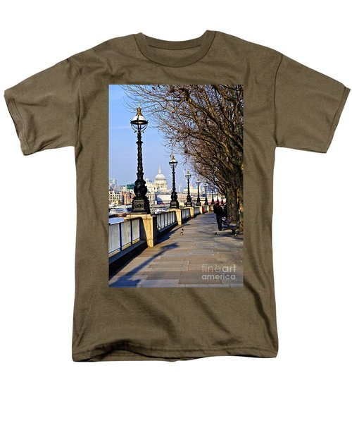 London view from South Bank T-Shirt by Elena Elisseeva