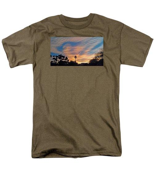 Lone Sentry Morning Sky Men's T-Shirt  (Regular Fit) by Jay Milo