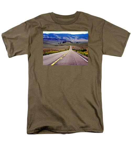 Lonely Road Men's T-Shirt  (Regular Fit) by Antonia Citrino