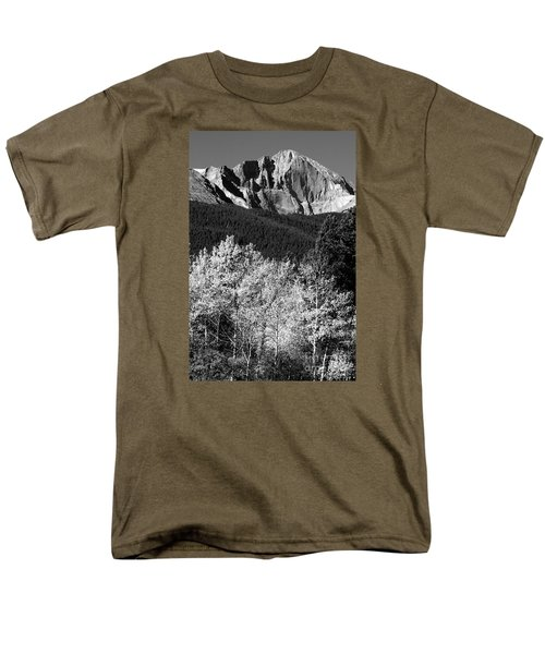 Longs Peak 14256 Ft Men's T-Shirt  (Regular Fit)
