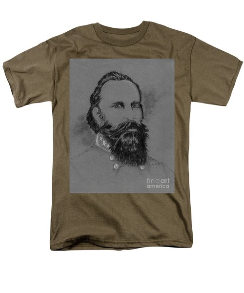 Longstreet's Reluctance Men's T-Shirt  (Regular Fit) by Scott and Dixie Wiley
