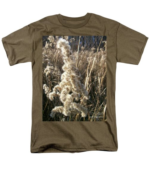 Men's T-Shirt  (Regular Fit) featuring the photograph Looks Like Cotton by Sara  Raber
