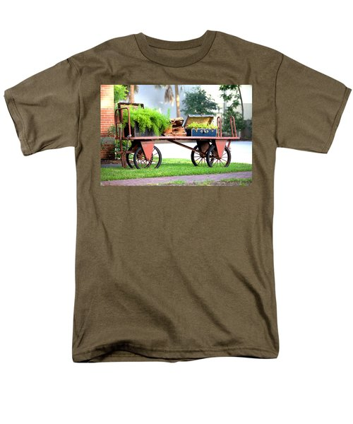 Men's T-Shirt  (Regular Fit) featuring the photograph Lost Luggage by Gordon Elwell