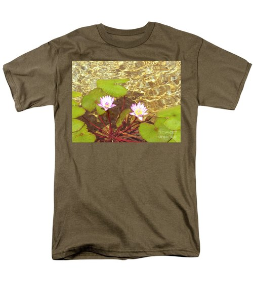 Men's T-Shirt  (Regular Fit) featuring the photograph Lotus by Mini Arora