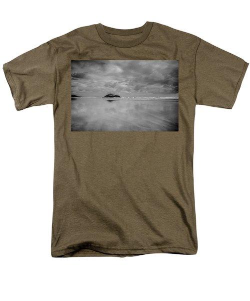 Love The Lovekin Rock At Long Beach Men's T-Shirt  (Regular Fit) by Roxann Hurtubise