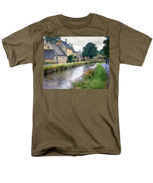 Lower Slaughter Men's T-Shirt  (Regular Fit) by William Beuther