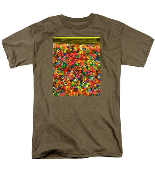 Macaroni Beads Men's T-Shirt  (Regular Fit) by Ranjini Kandasamy