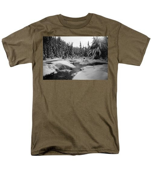 Madawaska River Men's T-Shirt  (Regular Fit) by David Porteus
