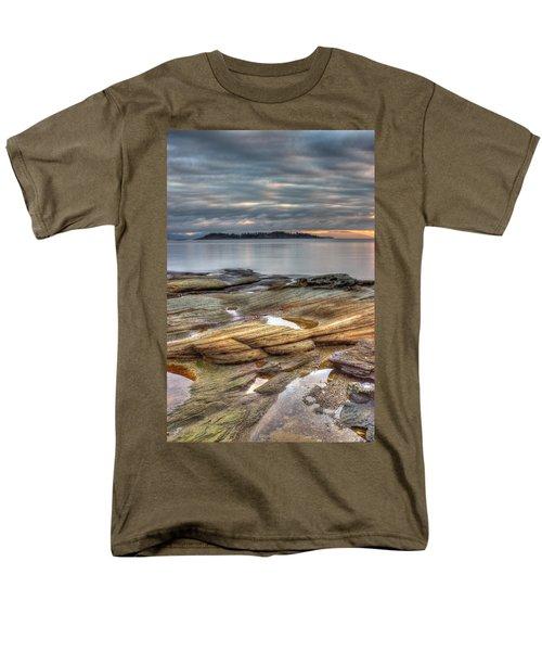 Madrona Sunrise Men's T-Shirt  (Regular Fit) by Randy Hall