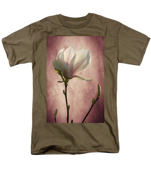 Men's T-Shirt  (Regular Fit) featuring the photograph Magnolia by Ann Lauwers
