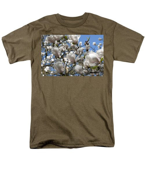 Men's T-Shirt  (Regular Fit) featuring the photograph Magnolia by Lana Enderle