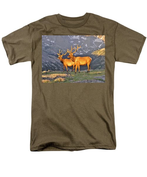 Men's T-Shirt  (Regular Fit) featuring the photograph Majestic Elk by Diane Alexander