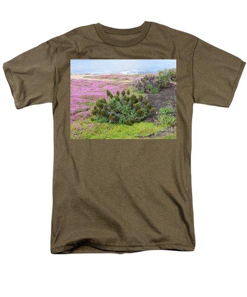 Majestic Shoreline Men's T-Shirt  (Regular Fit) by Joseph Baril