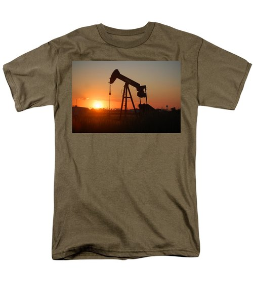 Making Tea At Sunset 2 Men's T-Shirt  (Regular Fit) by Leticia Latocki