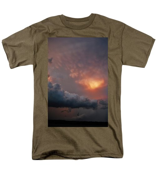 Mammatus At Sunset Men's T-Shirt  (Regular Fit) by Ed Sweeney