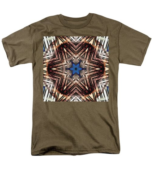 Men's T-Shirt  (Regular Fit) featuring the digital art Mandala 13 by Terry Reynoldson