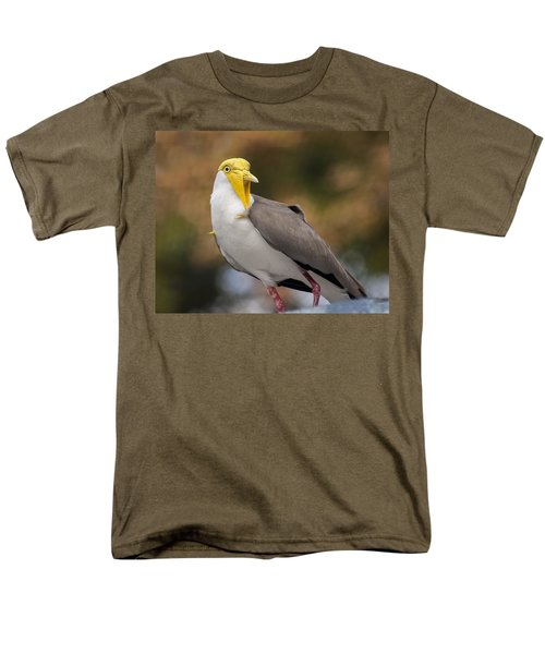 Masked Lapwing Men's T-Shirt  (Regular Fit) by Carolyn Marshall