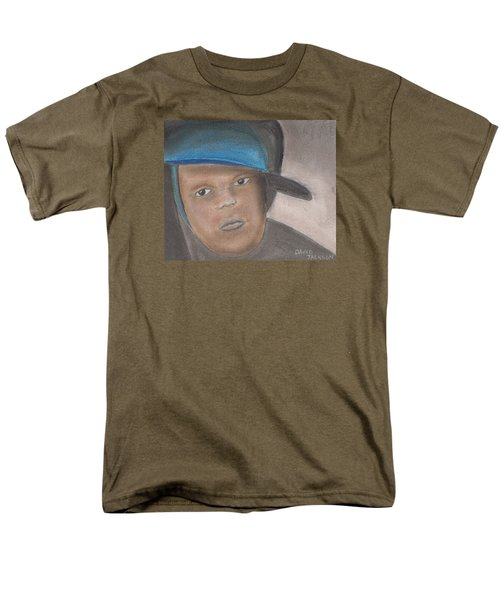 Men's T-Shirt  (Regular Fit) featuring the pastel Master Guy by David Jackson