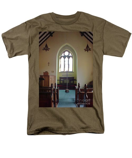 Men's T-Shirt  (Regular Fit) featuring the photograph May Hill Church by John Williams