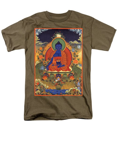 Medicine Buddha 8 Men's T-Shirt  (Regular Fit) by Lanjee Chee