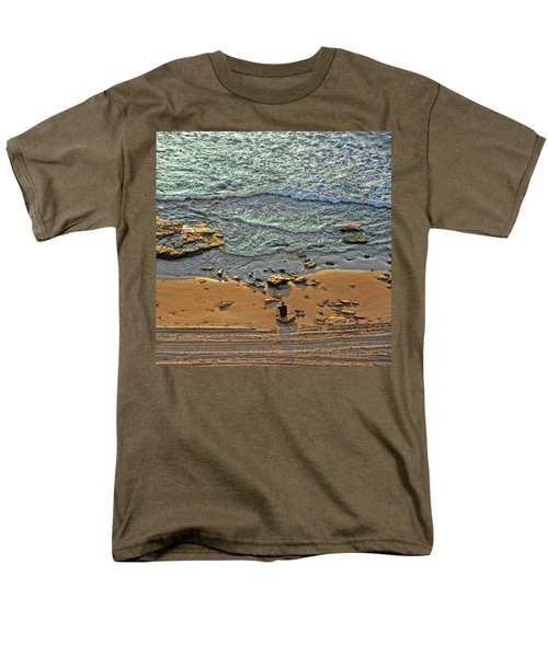 Meditation Men's T-Shirt  (Regular Fit) by Ron Shoshani